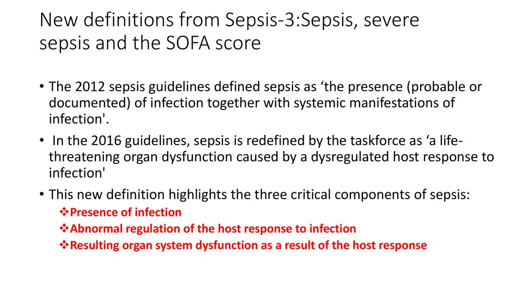 Paediatric Sepsis Recognizing The Many Faces Ppt Download