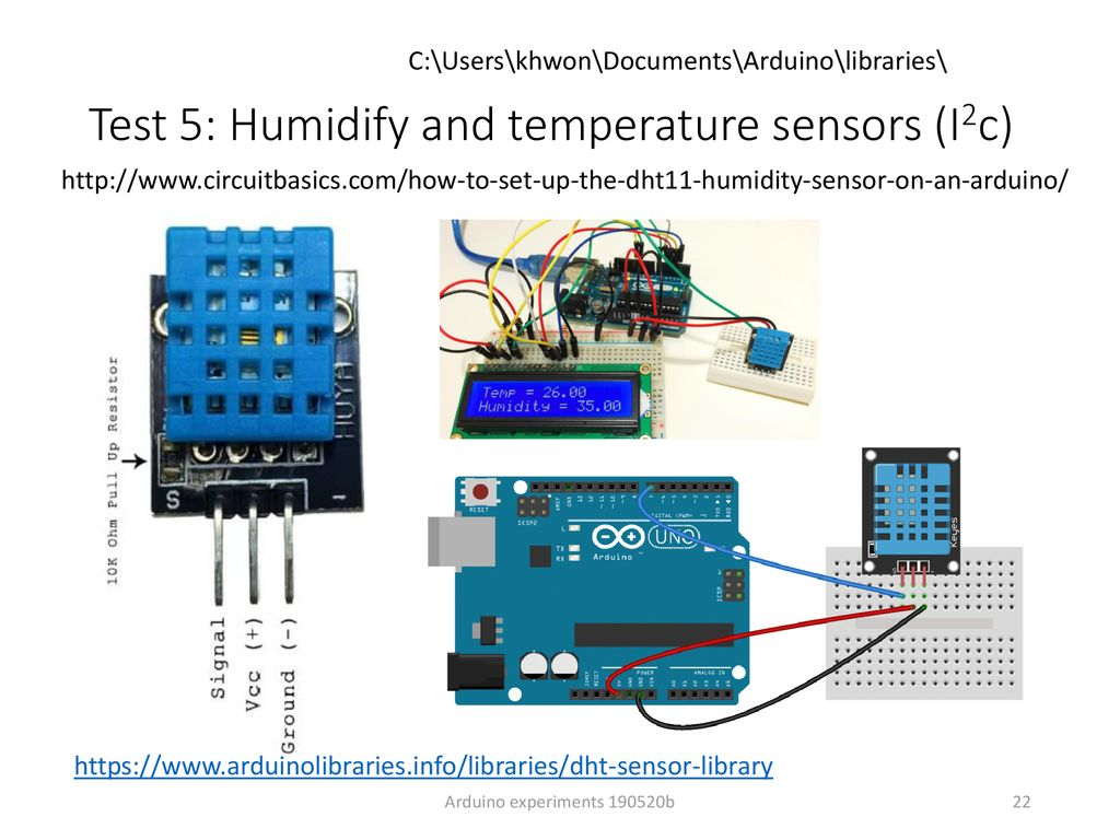 Arduino experiments KH Wong - ppt download