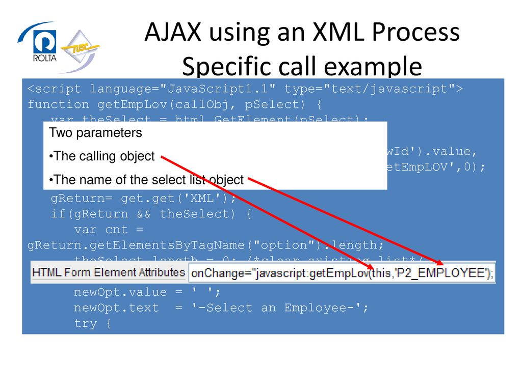Cool ApEx Integration with AJAX, YUI, Google Maps, and more… - ppt