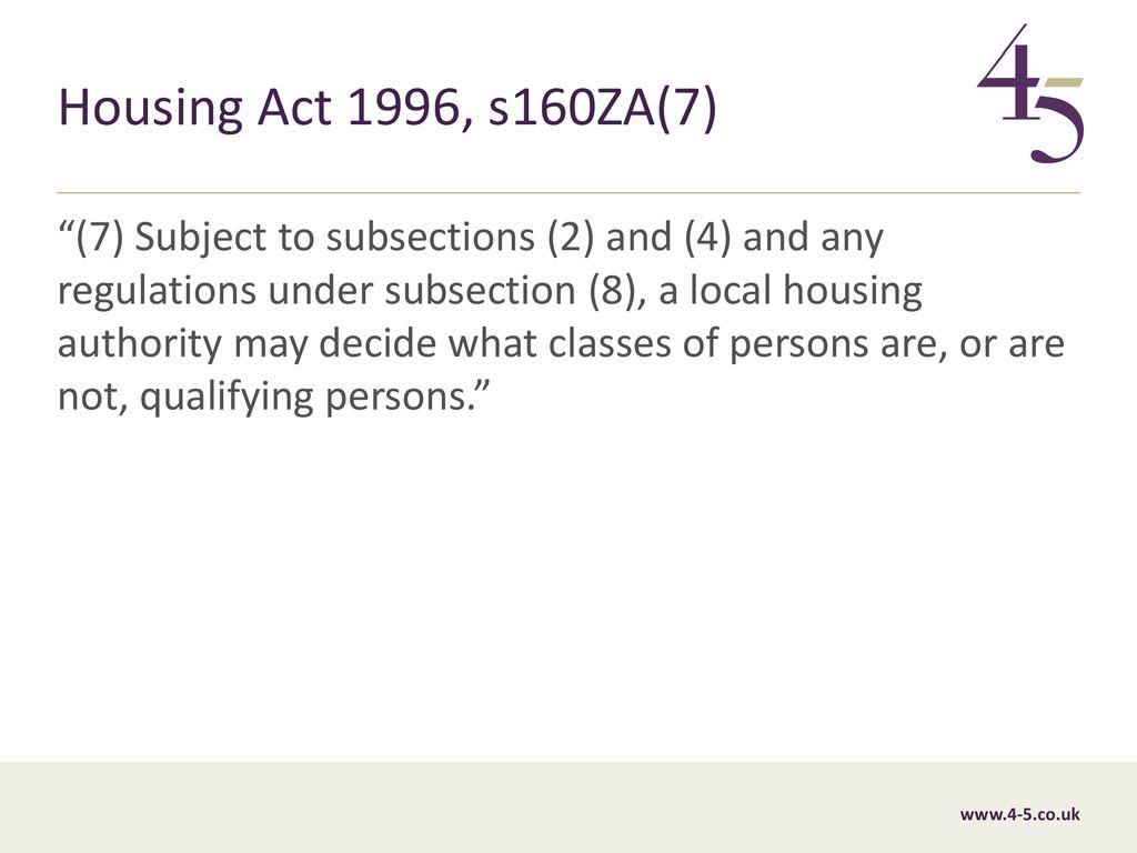 10 June 2019 Housing allocation Christopher Baker 10 June