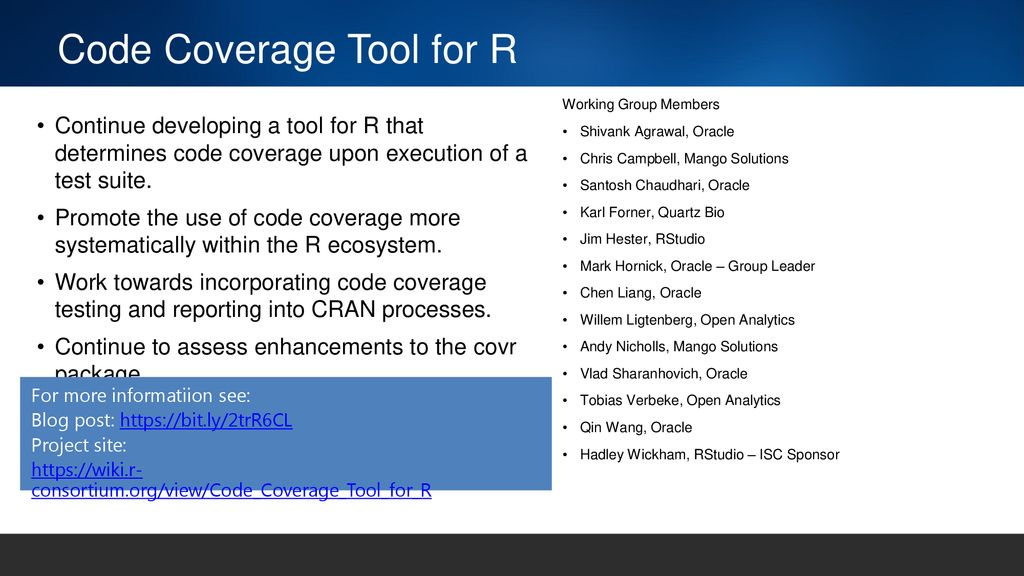 Code Coverage Tool for R