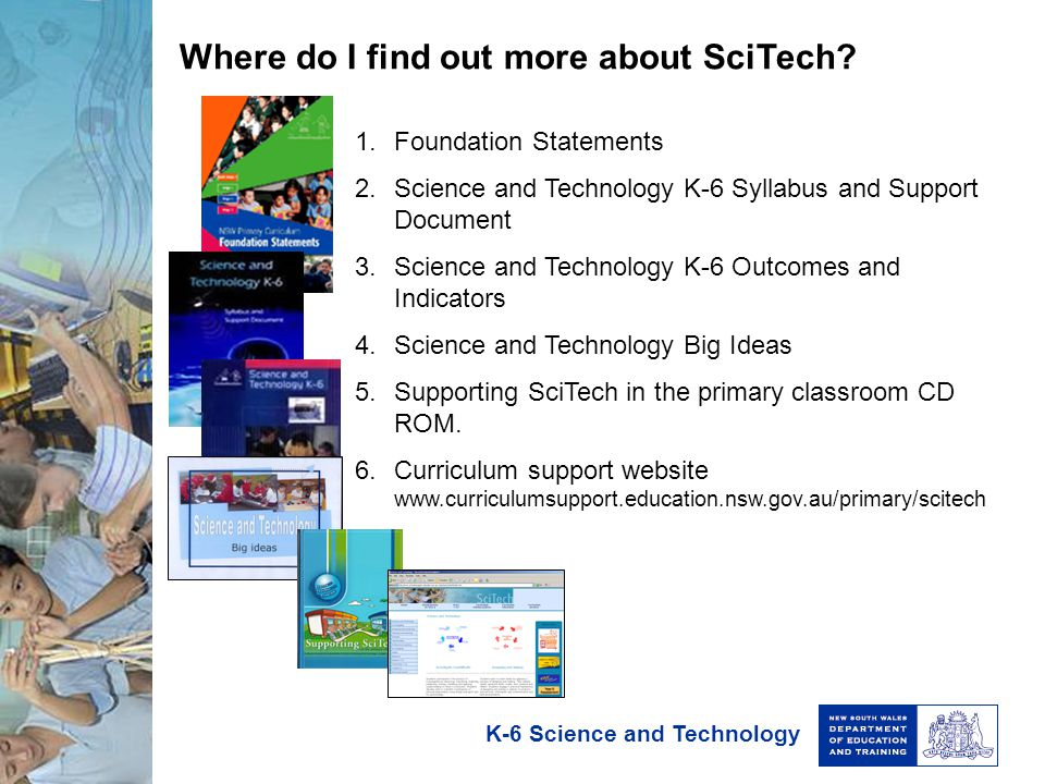 Where do I find out more about SciTech