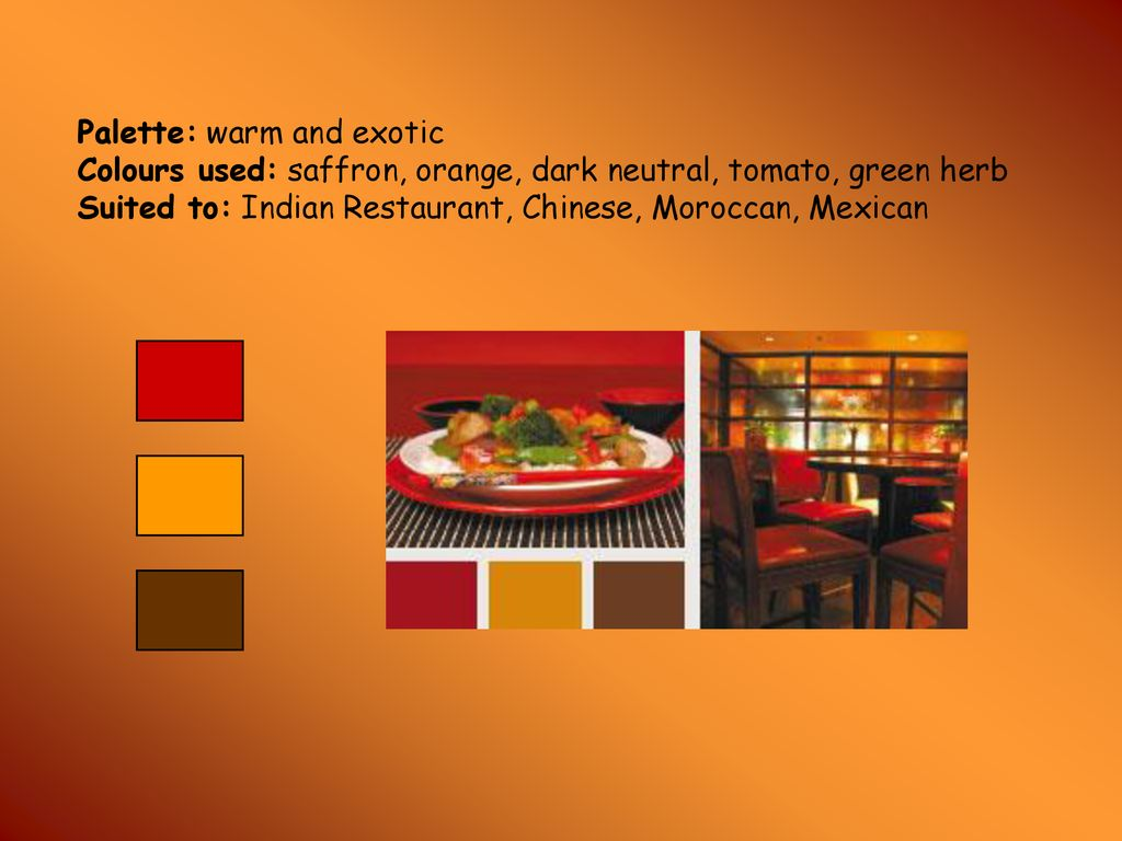 Restaurant Design So What Makes Up A Good Interior Ppt Download
