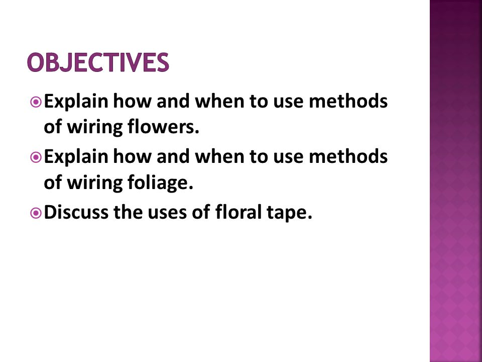 Fantastic Selecting And Wiring Flowers Ppt Download Wiring Database Unre4X4Andersnl