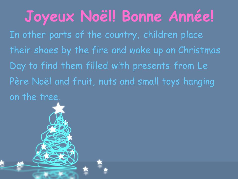 Christmas Day In France.Christmas In France Ppt Download