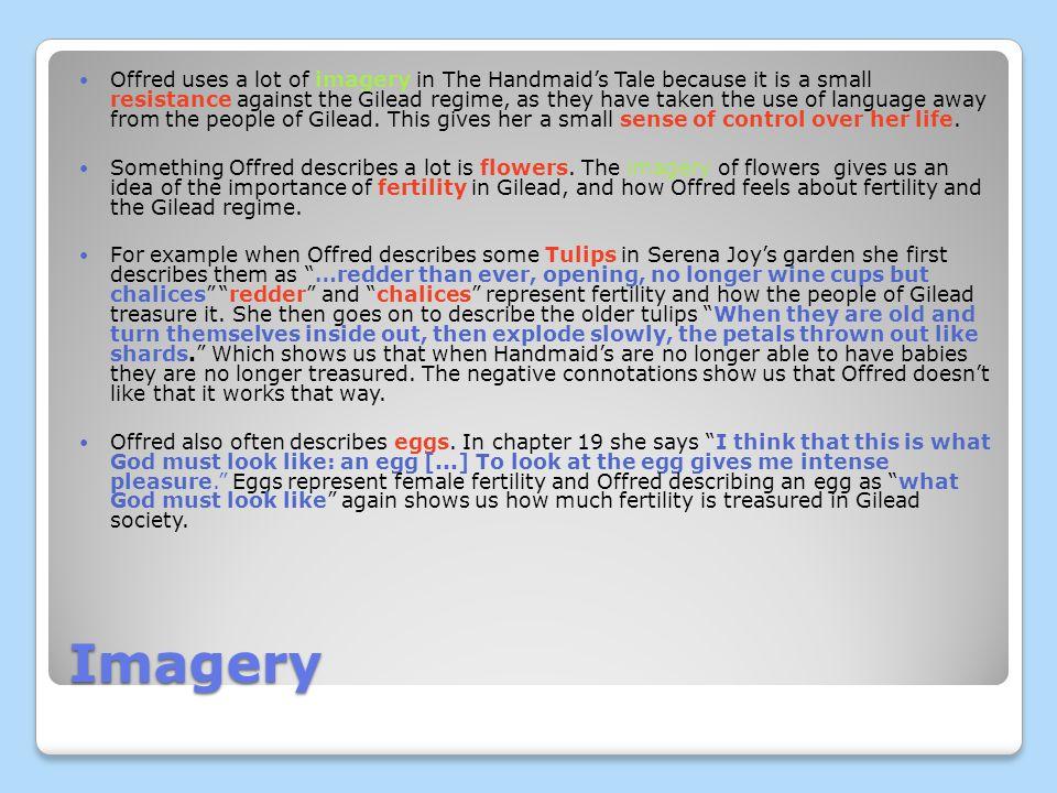 Offreds Language Comparison Imagery Symbolism Ppt Download