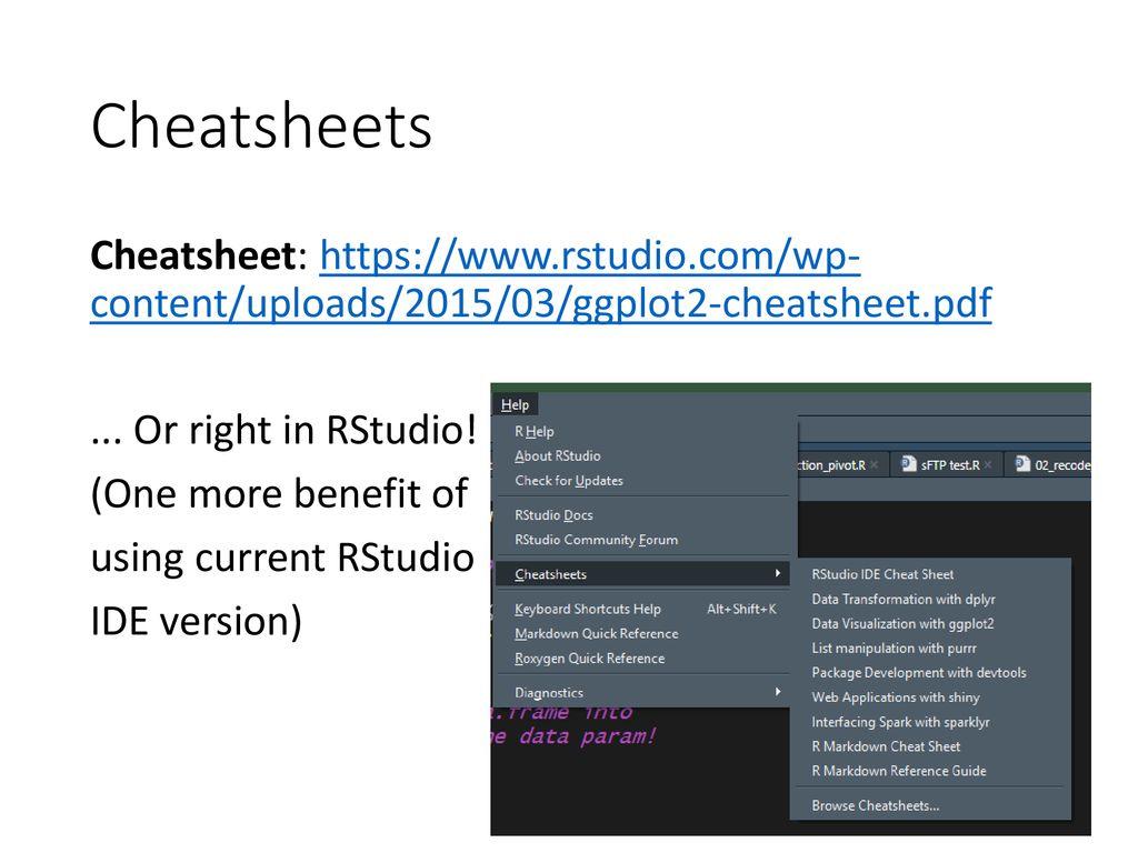 R for Epi Workshop Module 3: Data visualization with ggplot