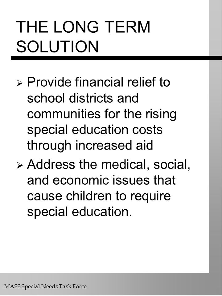 Special Education Costs Force Some >> Special Education Finance Policy Ppt Download