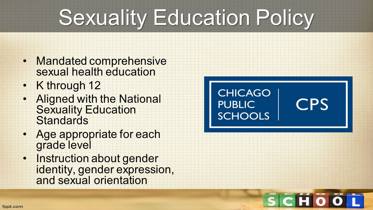 National sexuality health education standards