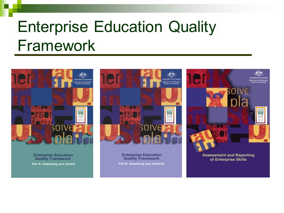 Enterprise Education Quality Framework