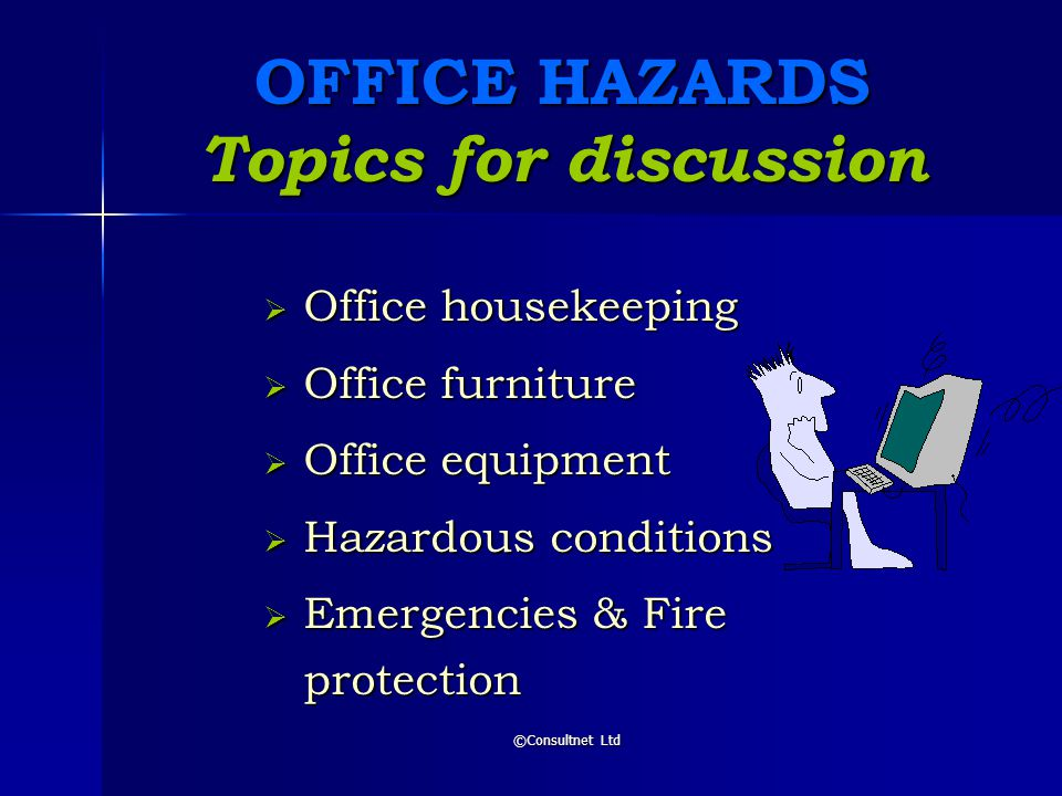 Housekeeping Amp Office Safety 169 Consultnet Ltd Ppt Video