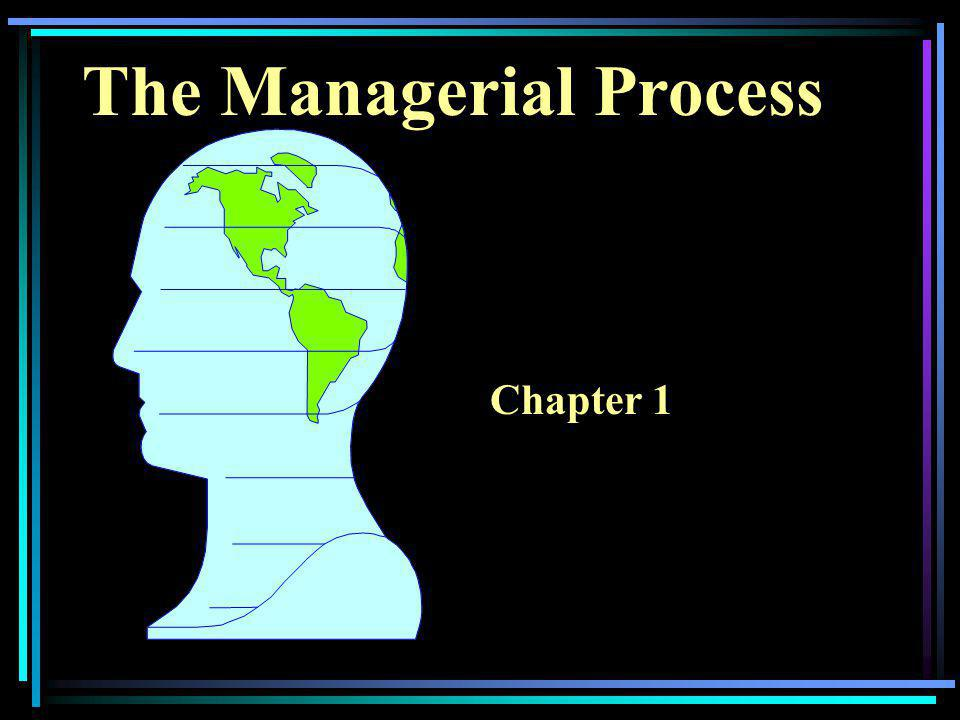 The Managerial Process