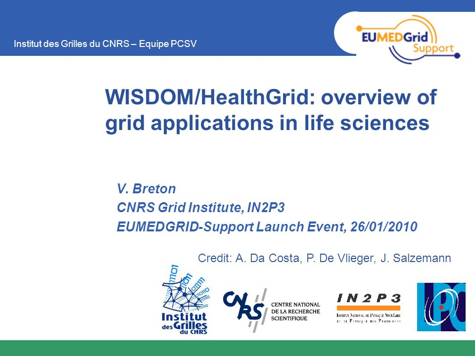 WISDOM/HealthGrid: overview of grid applications in life sciences
