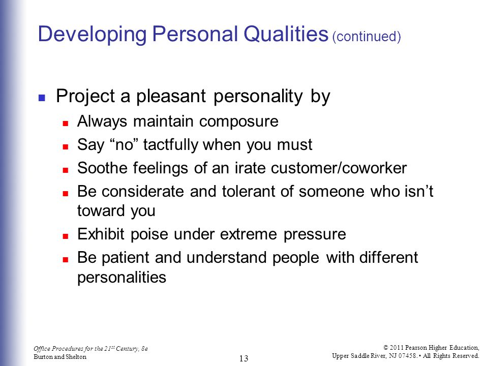 Chapter 2 Developing Professional Skills - ppt video online