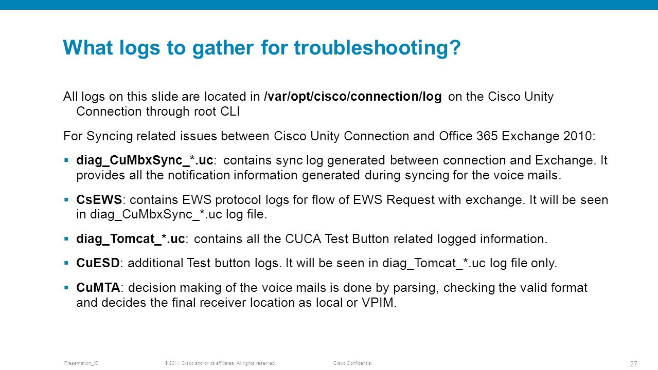 Office 365 with Cisco Unity Connection ppt video online download