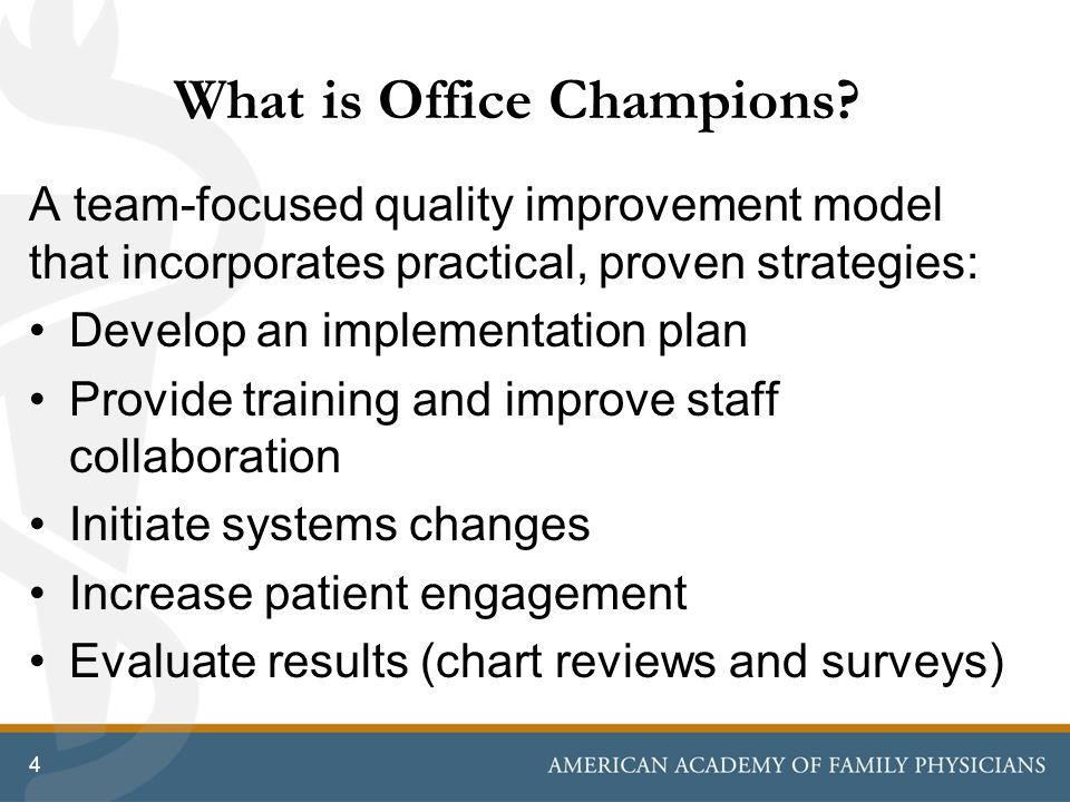 What is Office Champions
