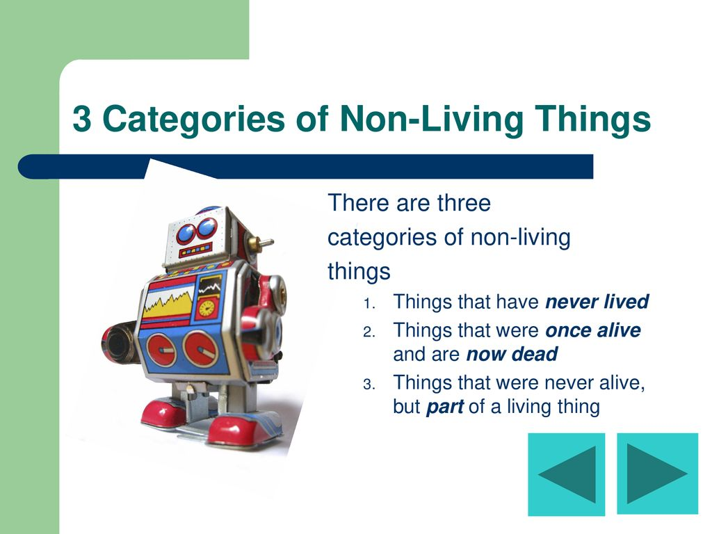 Qualifications Of Living Things Ppt Download