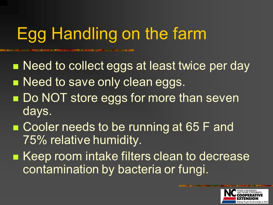 Hatching Best Management Practices - ppt video online download
