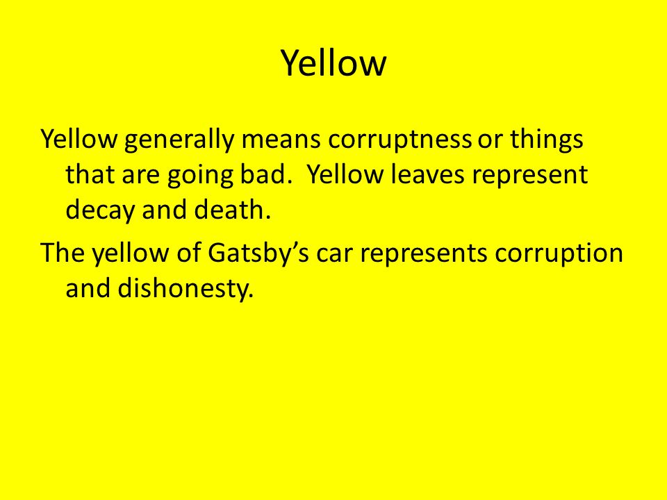 Symbolism In The Great Gatsby Ppt Video Online Download