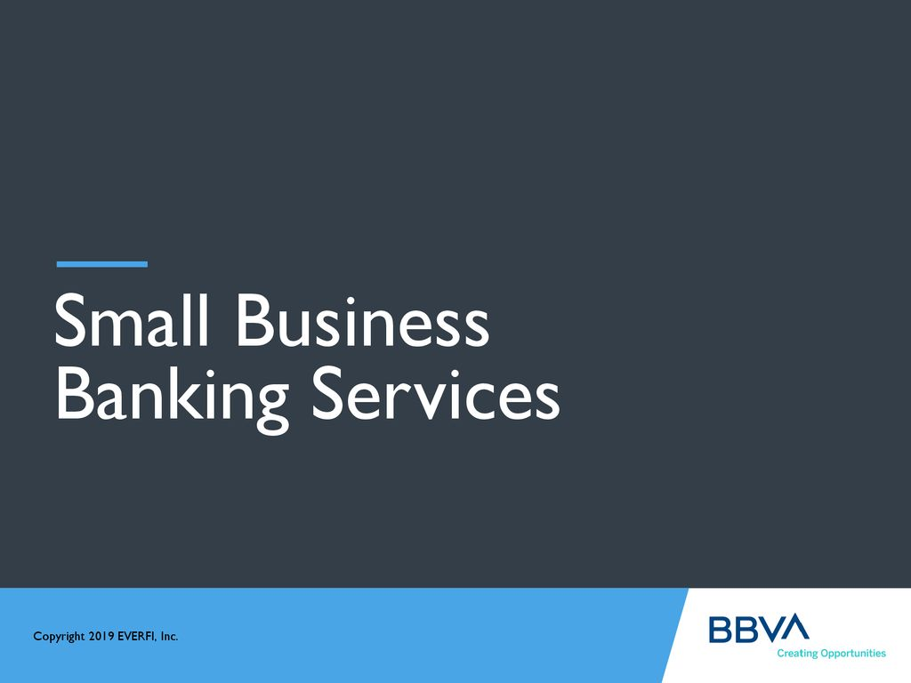 Small Business Banking >> Small Business Banking Services Ppt Download