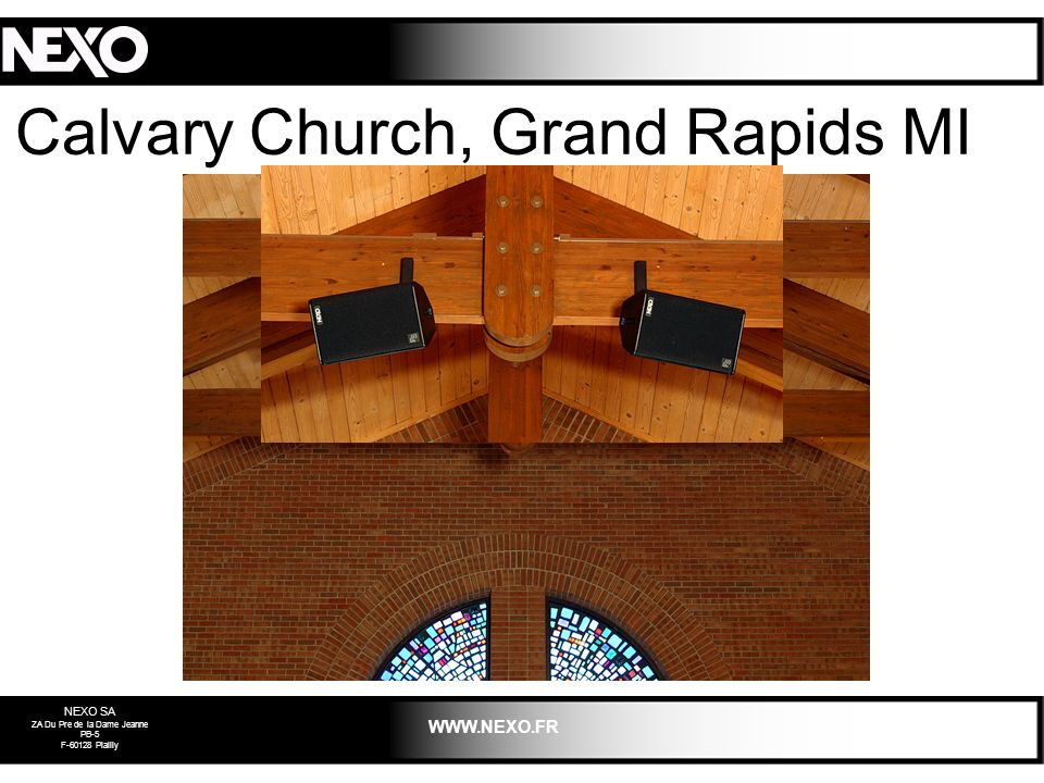 Calvary Church, Grand Rapids MI 2003