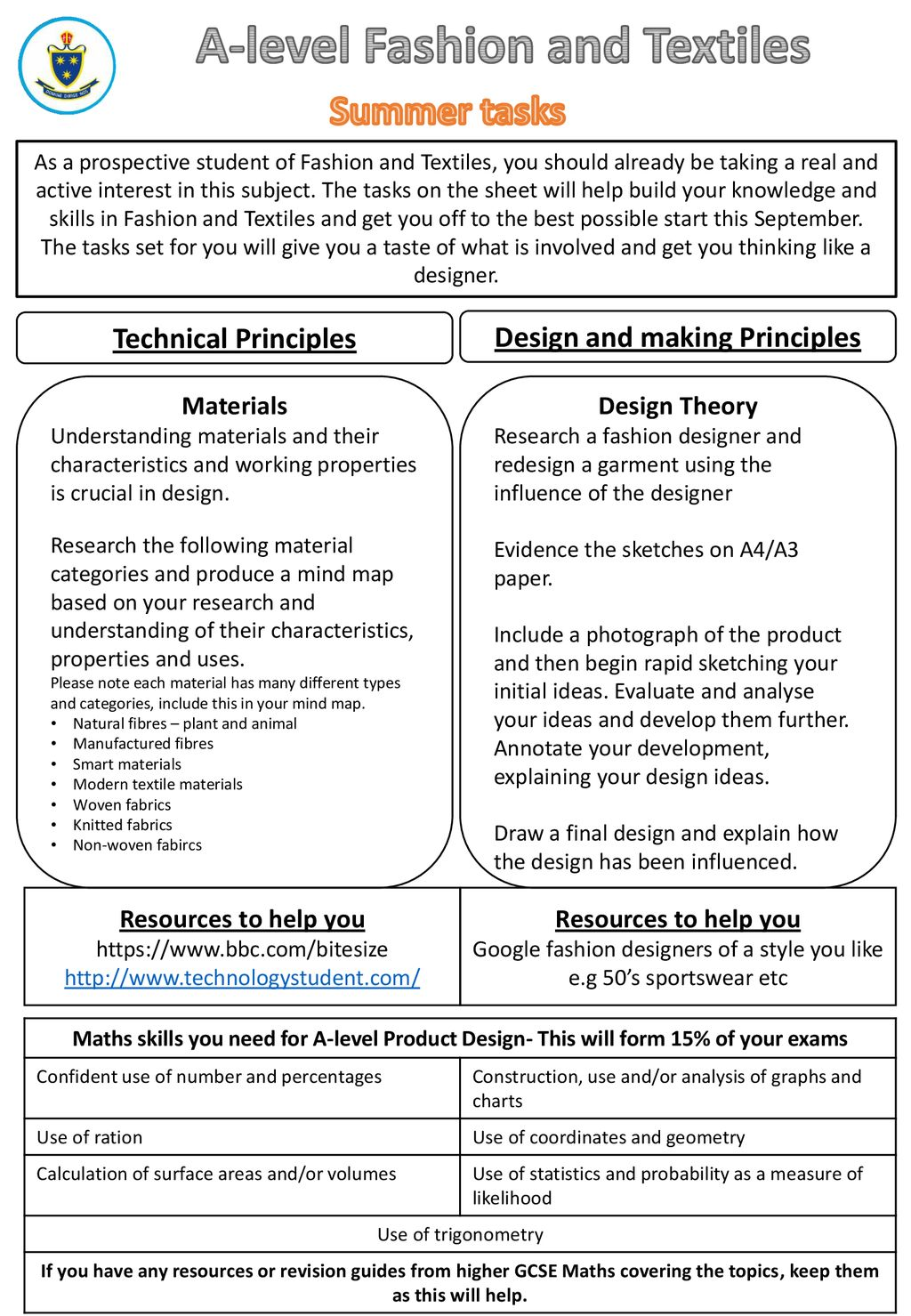 A Level Fashion And Textiles Design And Making Principles Ppt Download