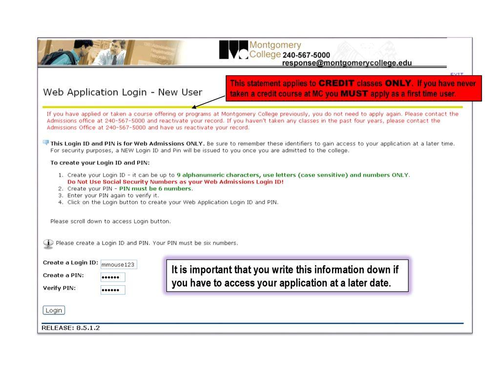 Click login date Send Mail