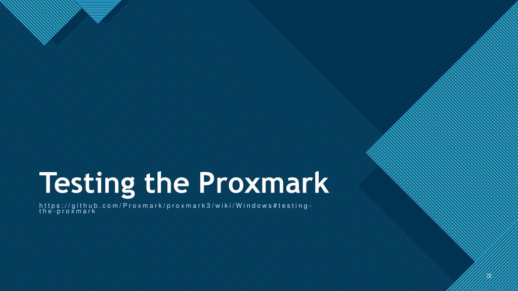 Testing Your Proximity Cards Preparing Proxmark 3RDv4 - ppt