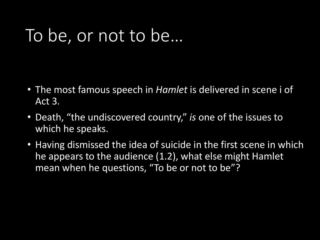 An Introduction To The Tragedy Of Hamlet Ppt Download