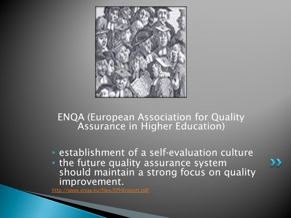 ENQA (European Association for Quality Assurance in Higher Education)