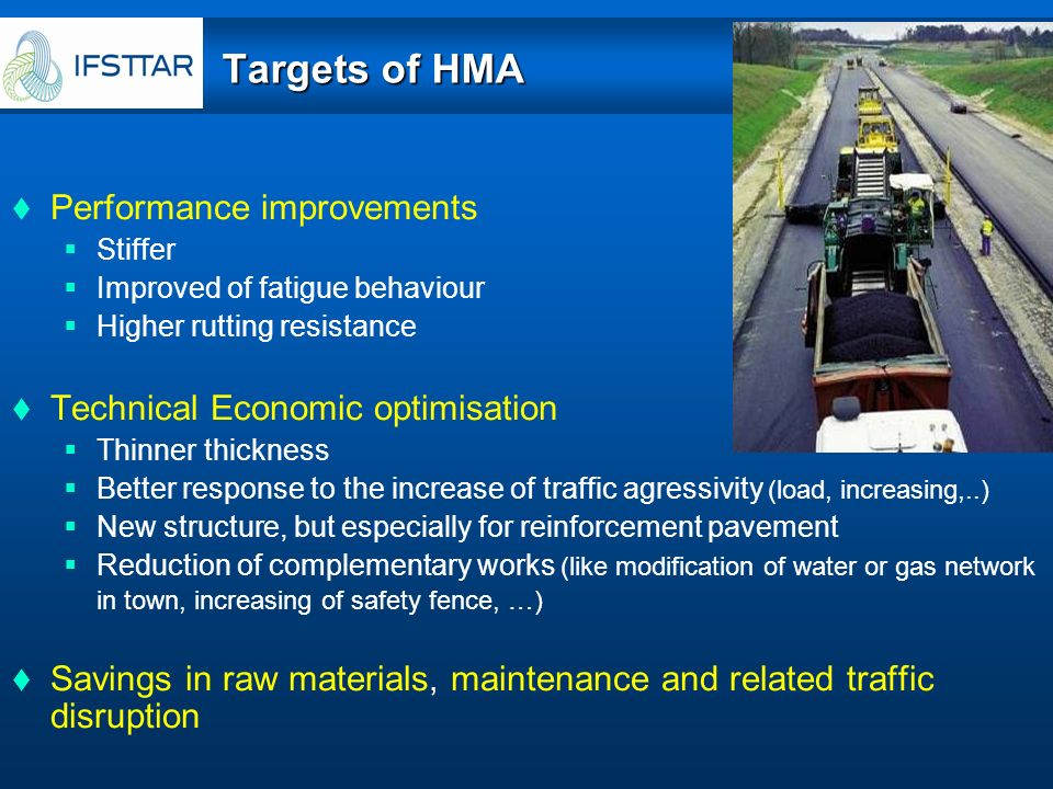 Targets of HMA Performance improvements