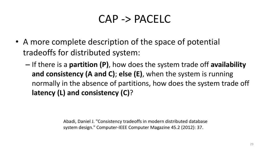 Data Intensive Distributed Computing Ppt Download