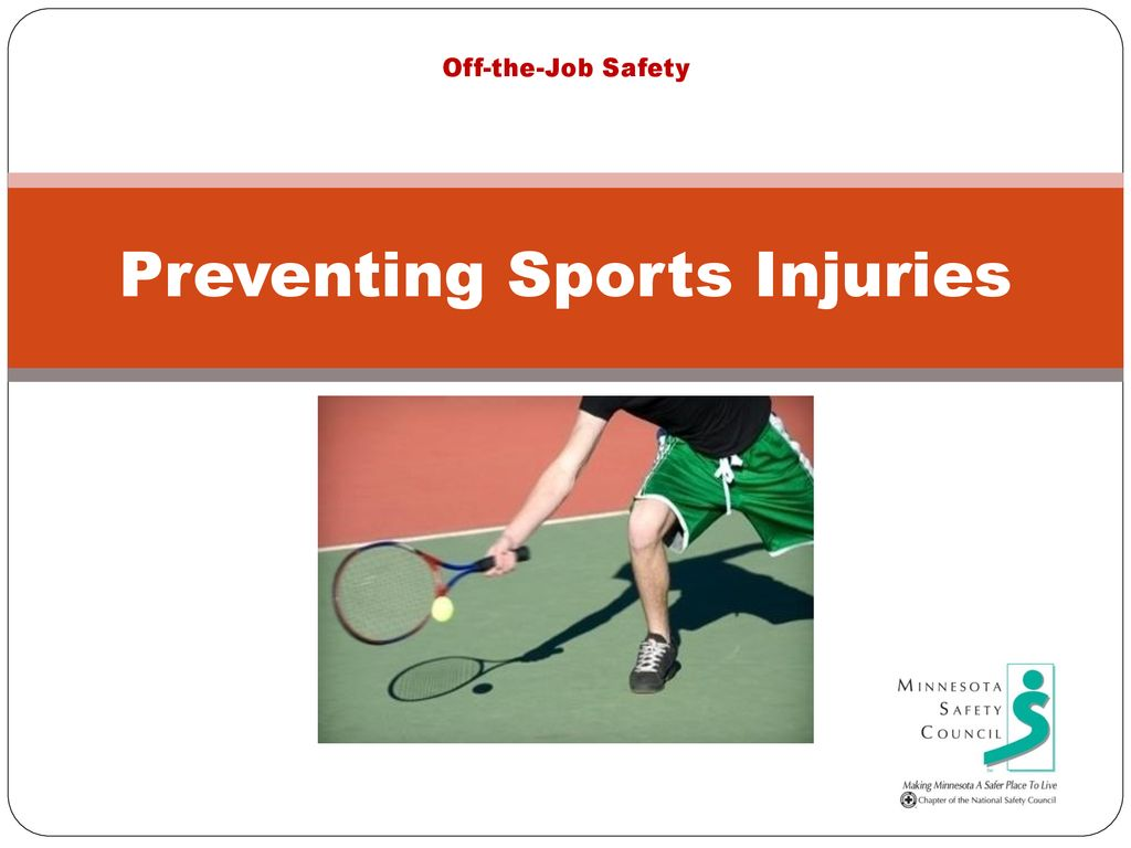 Preventing Sports Injuries Ppt Download