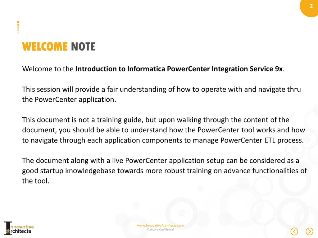 Introduction To Informatica Powercenter Ppt Download