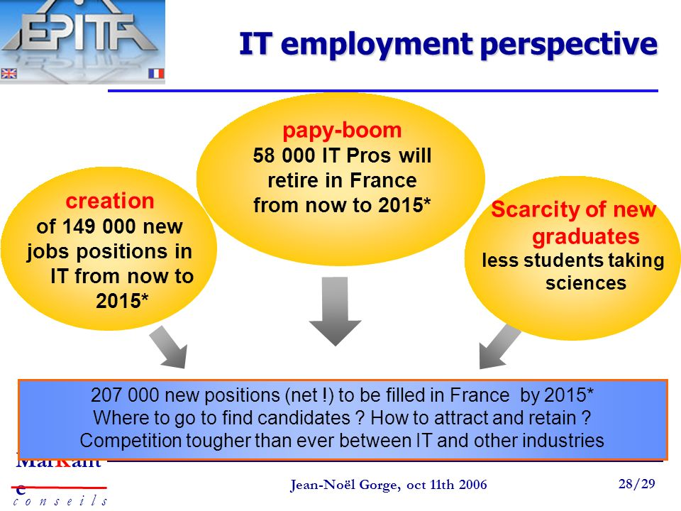 IT employment perspective