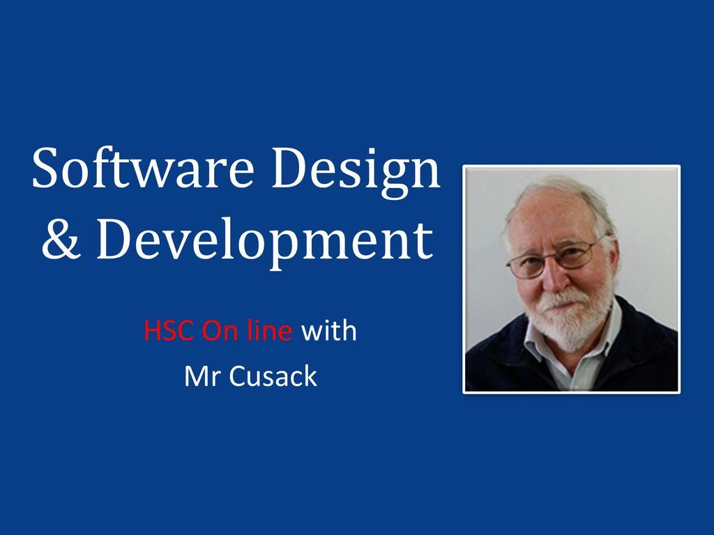 Software Design Development Ppt Download