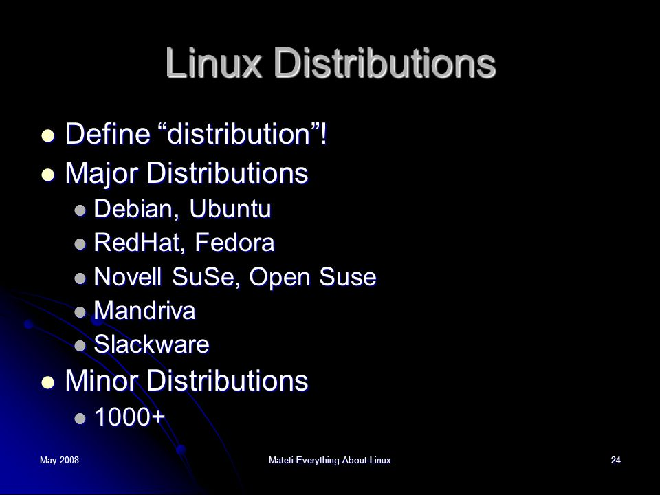Every Thing You Should Know About Linux - ppt video online