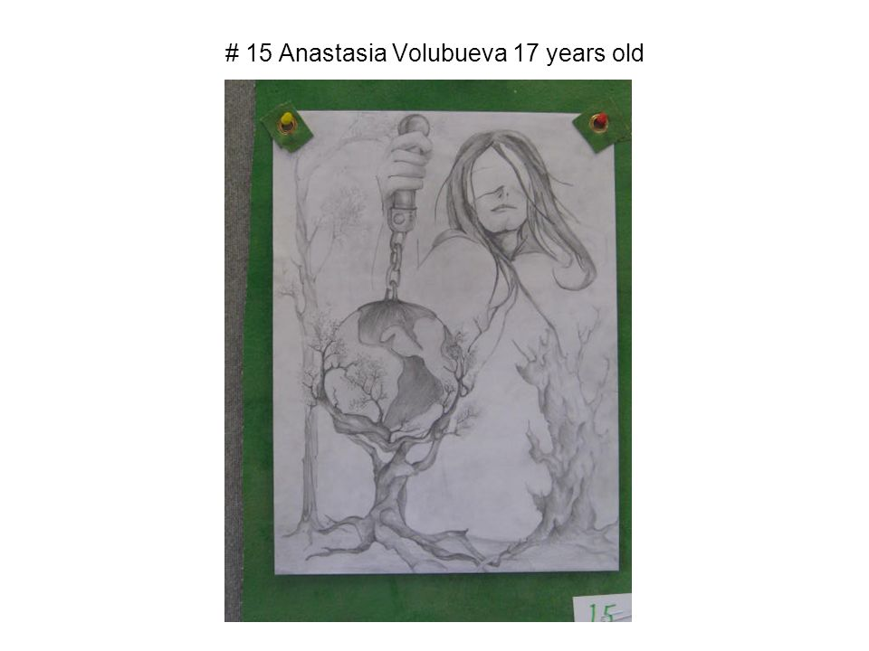 # 15 Anastasia Volubueva 17 years old