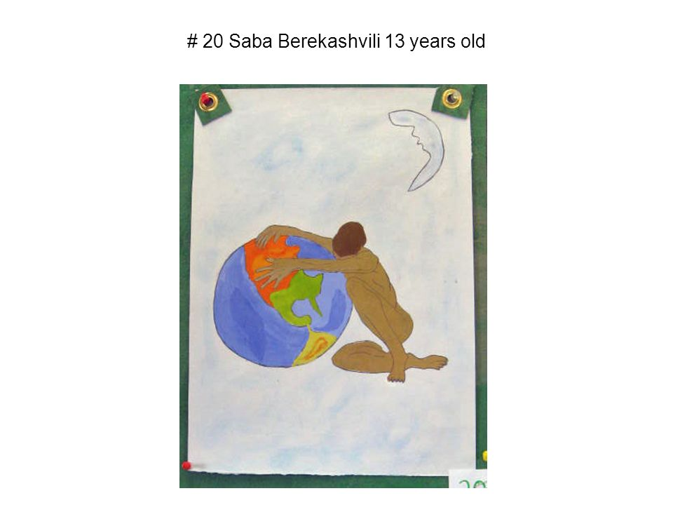 # 20 Saba Berekashvili 13 years old
