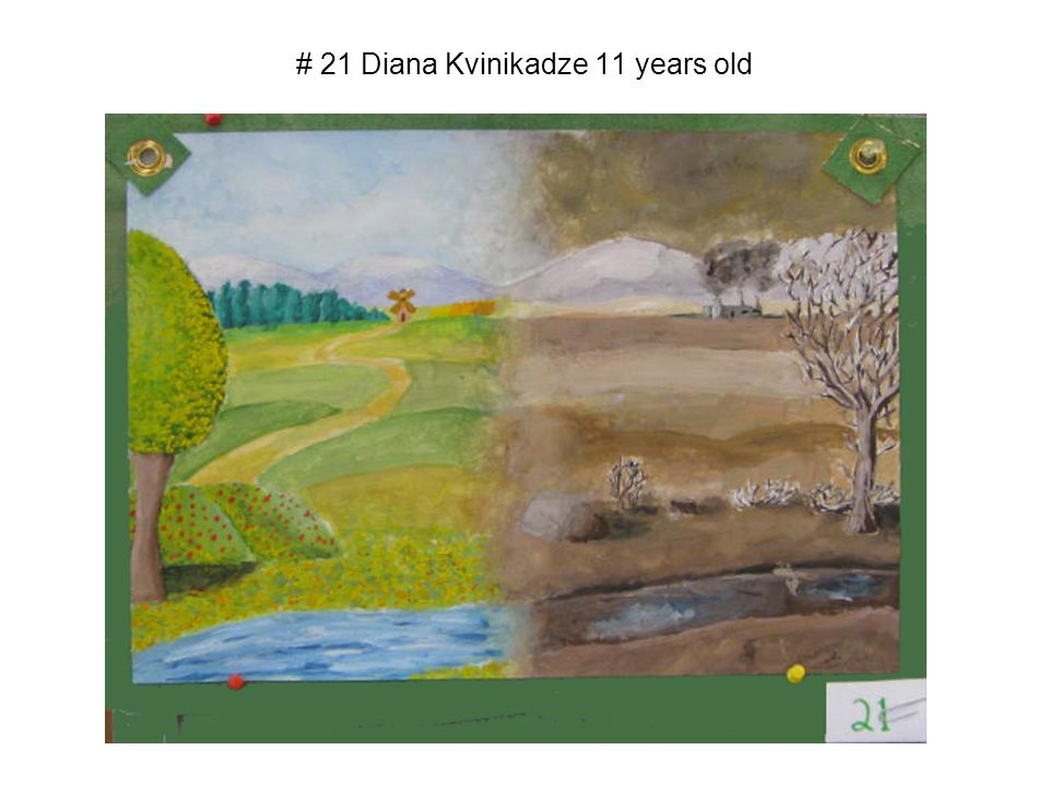 # 21 Diana Kvinikadze 11 years old