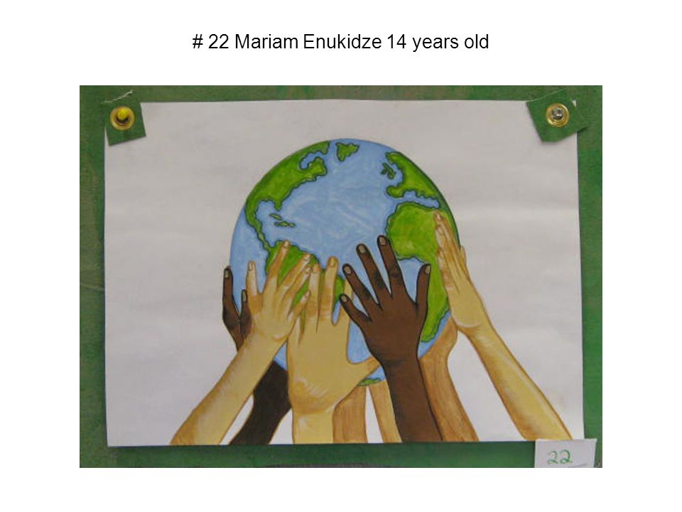 # 22 Mariam Enukidze 14 years old