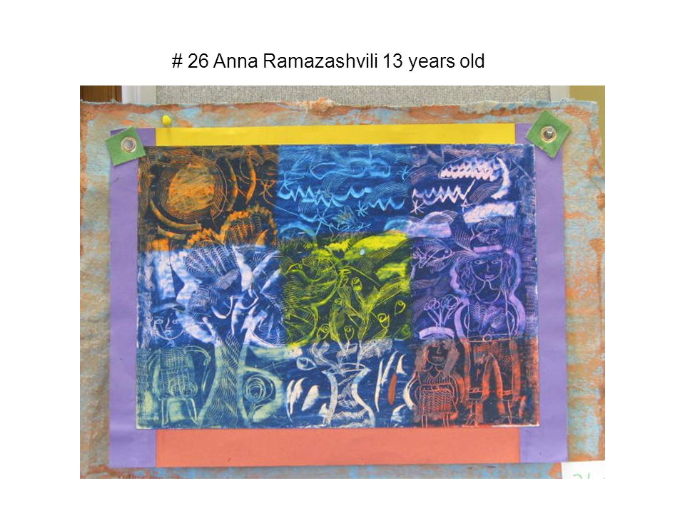 # 26 Anna Ramazashvili 13 years old