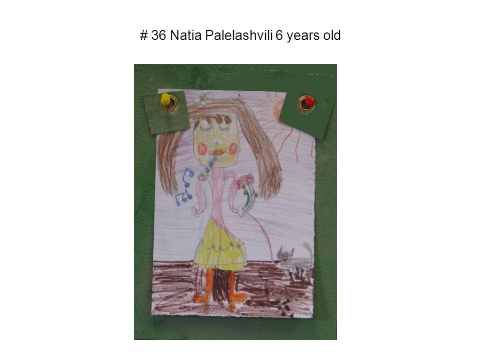 # 36 Natia Palelashvili 6 years old