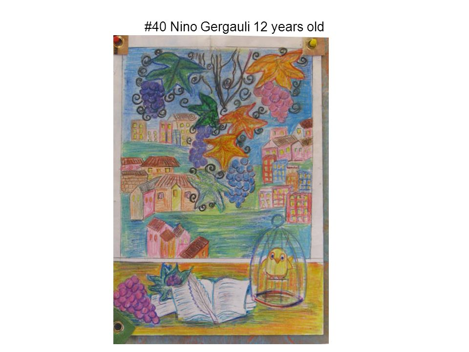 #40 Nino Gergauli 12 years old