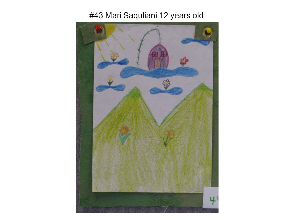 #43 Mari Saquliani 12 years old
