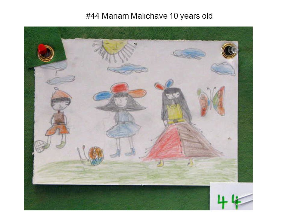 #44 Mariam Malichave 10 years old