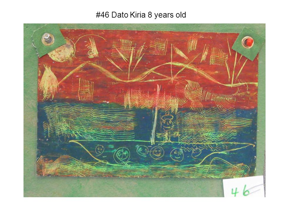 #46 Dato Kiria 8 years old