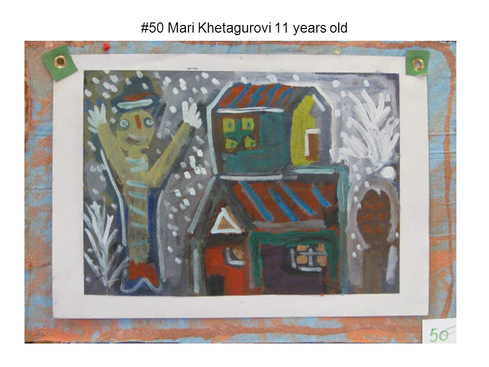#50 Mari Khetagurovi 11 years old