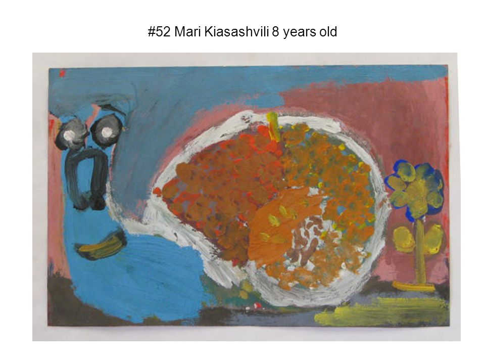 #52 Mari Kiasashvili 8 years old