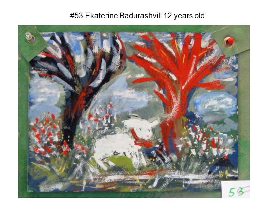 #53 Ekaterine Badurashvili 12 years old